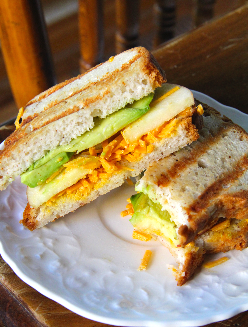 Apple Avocado Grilled Cheese