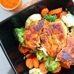 SPICY GRILLED CHICKEN & VEGGIE BOWL