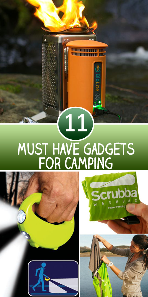 11 Must Have Gadgets for Camping