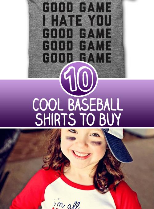 10 Baseball Shirts You Must Buy