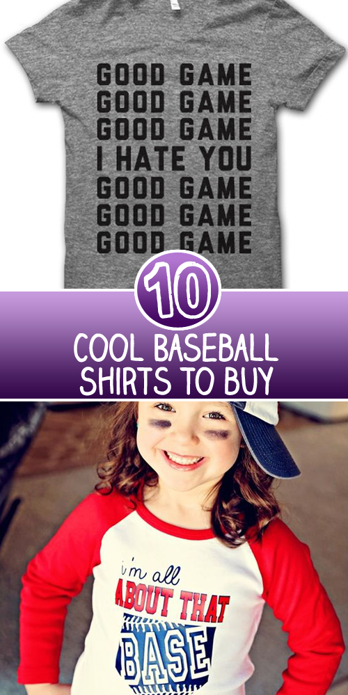 10 Baseball Shirts You Must Buy