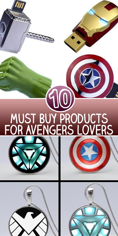 10 Must Buy Products for Avengers Lovers