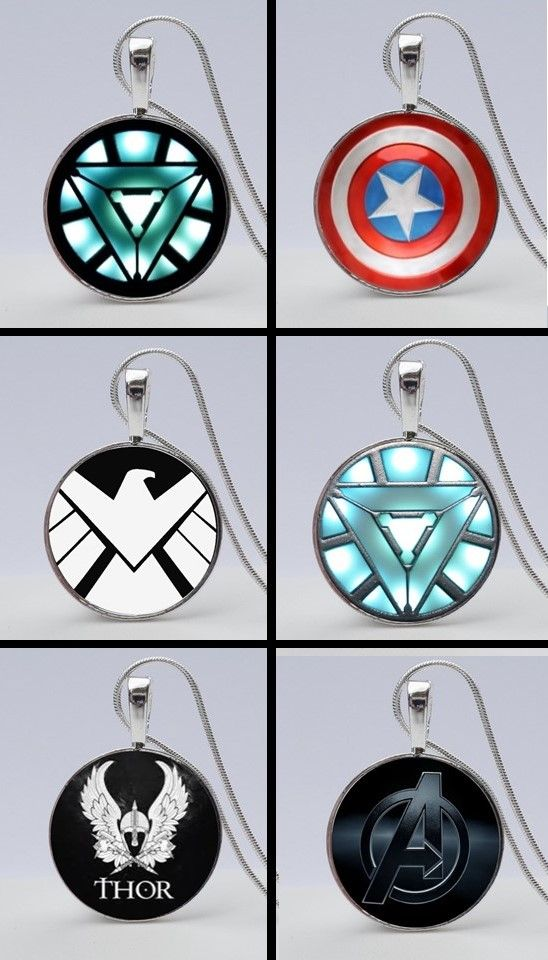 Avengers Shield Necklace