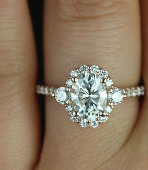 engagement rings with glamorous charm - Gorgeous Wedding Rings