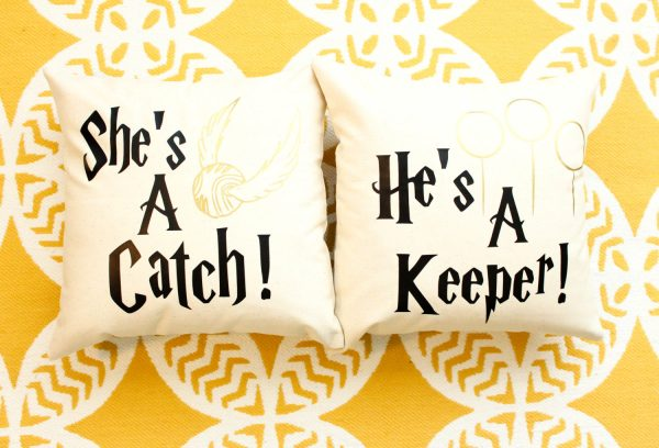 Catch and Keeper Pillow