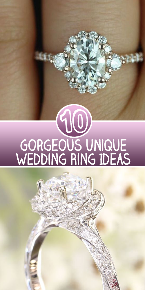 10 gorgeous unique wedding ring ideas skinny ninja mom top 10 engagement rings copy junglespirit Gallery