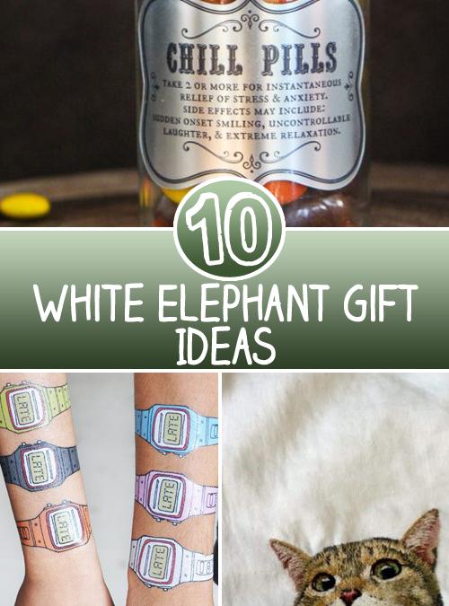 10 White Elephant Gift Ideas