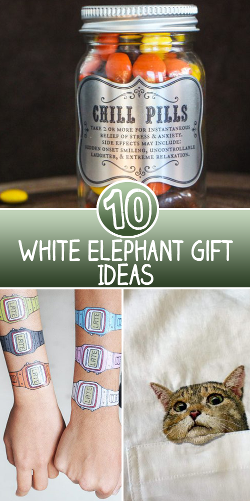 10 White Elephant Gift Ideas