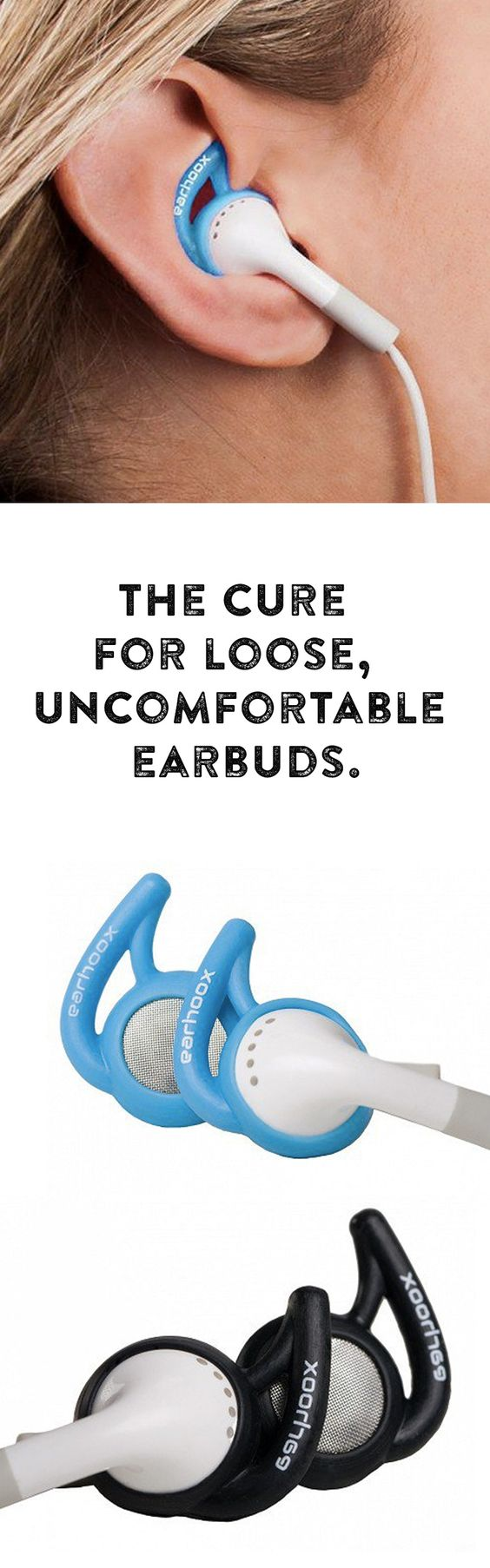 The cure for loose, uncomfortable earbuds