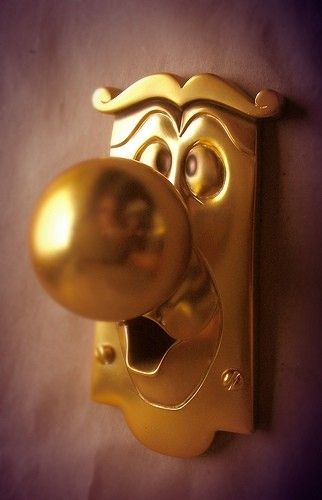 Alice in Wonderland Character Display Doorknob