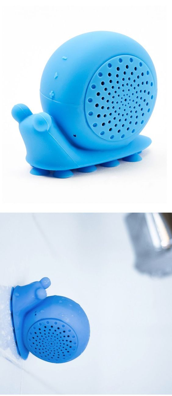 Blue Snail Shower Speaker