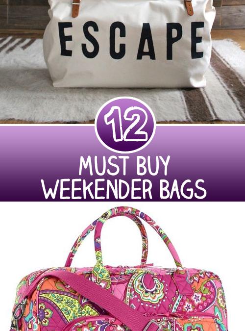 12 Must Buy Weekender Bags