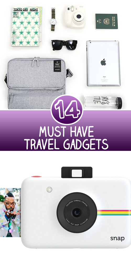 14 Must Have Travel Gadgets
