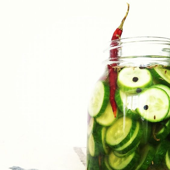 Spicy Homemade Pickles