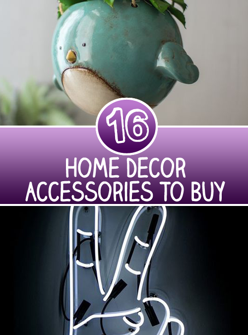 16 Products And Home Decor Accessories To Buy