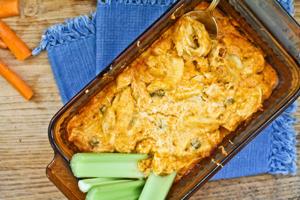 Buffalo Chicken Dip with Homemade Mayonnaise