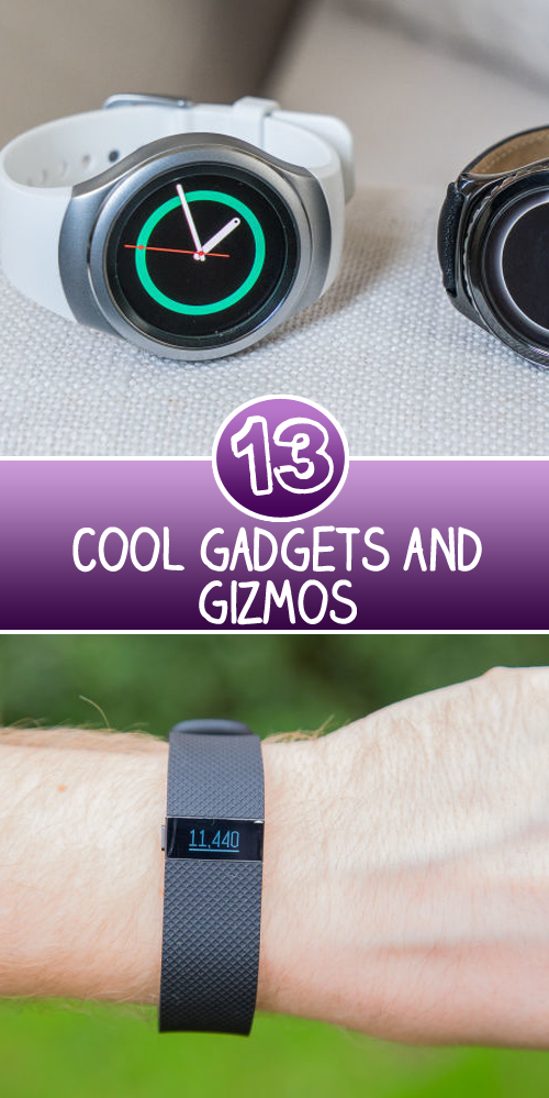 13 Cool Gadgets in Gadgets and Gizmos