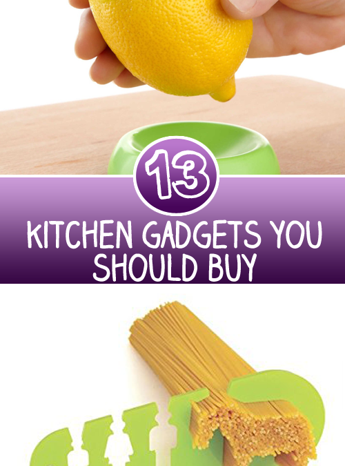 13 Kitchen Gadgets you should buy