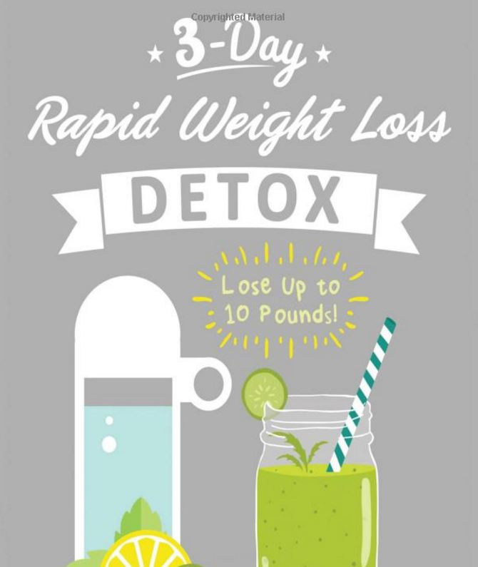 3 day rapid weight loss