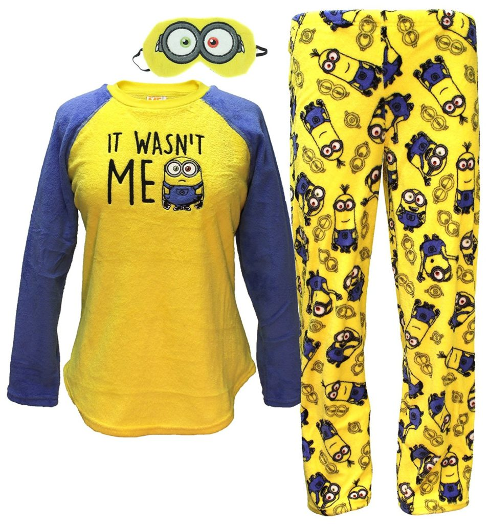 Despicable Me Minions Plush Pajama