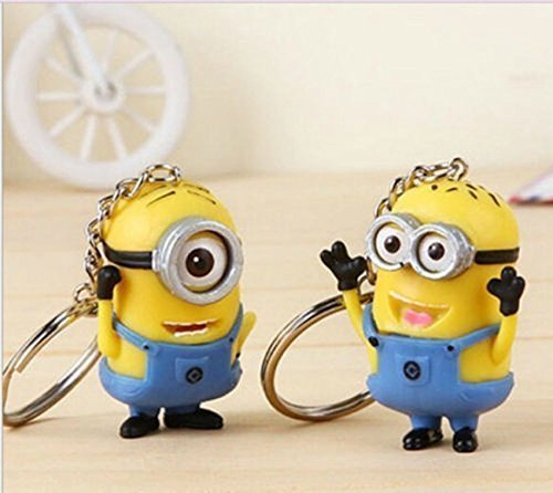 Minion Toy Rubber Keychain