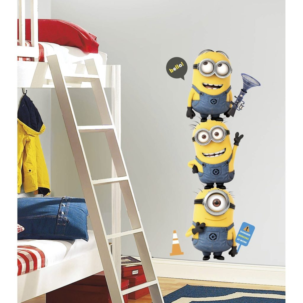 Minions Giant Peel And Stick Giant Wall Decals