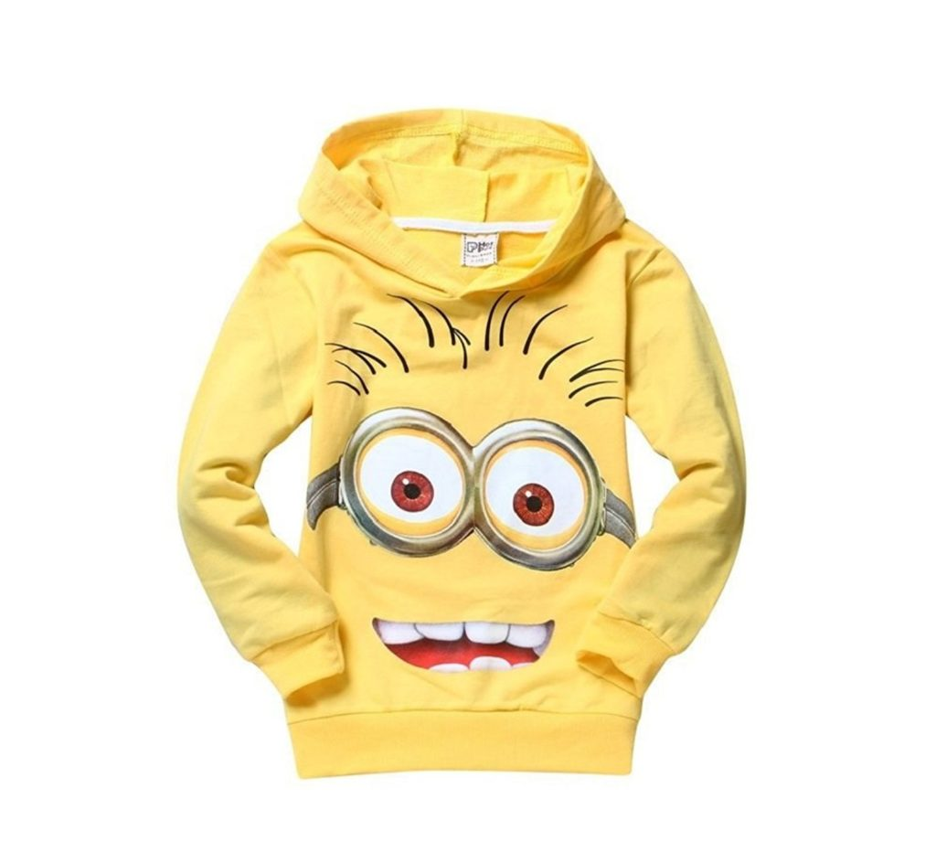 Minions Girls T-Shirt Hoodies