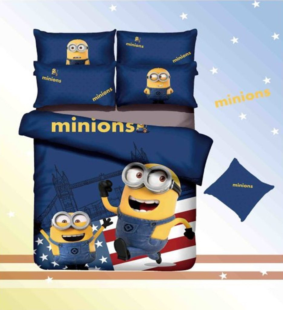 Minions Kids Bedding Set
