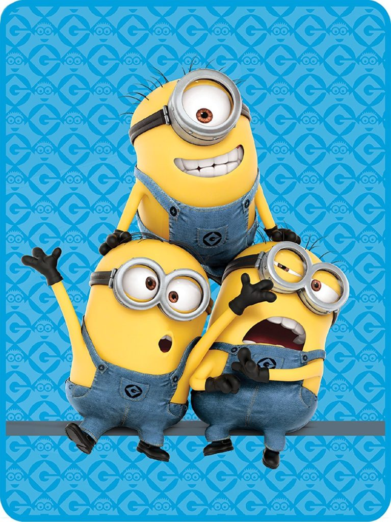 Minions Pyramid Microraschel Throw