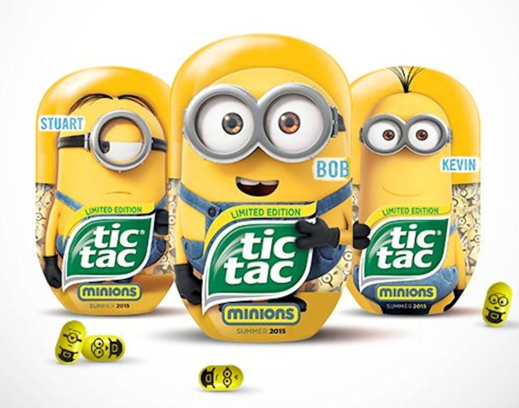 Tic Tac Limited Edition Despicible Me Minion Bundle