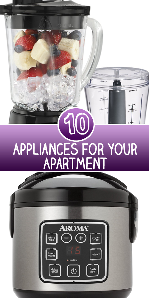 10 Appliances for your Apartment