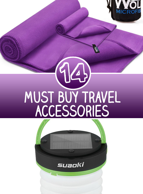 14 Must buy Travel Accessories