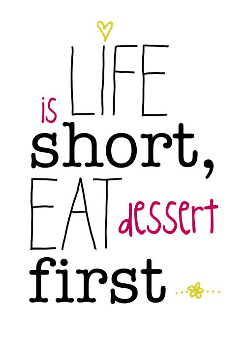 Best 27 Dessert Quotes – Skinny Ninja Mom