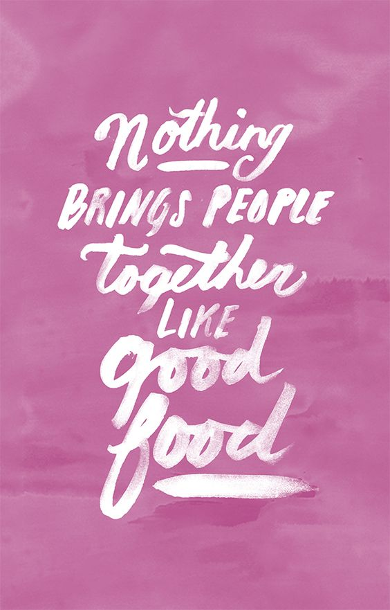 Top 29 famous food quotes