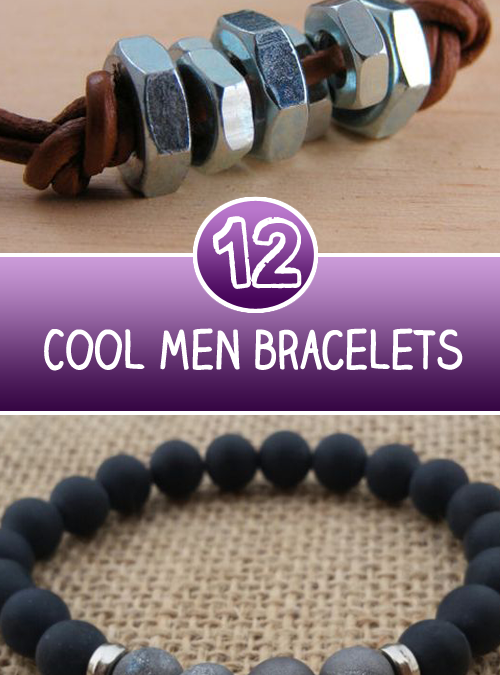 12 Cool Men bracelets