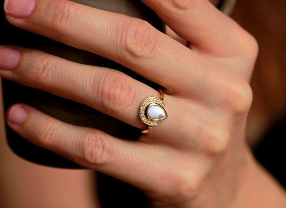 white rings antique double gold art pearl img deco engagement ring jewellery products size