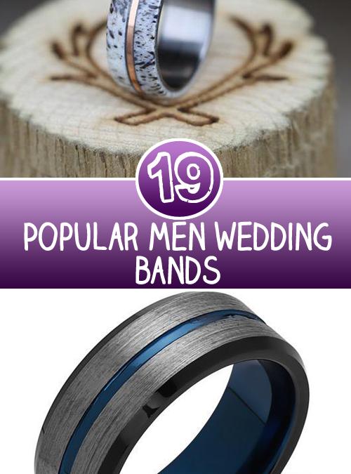 Top 19 Popular Men Wedding Bands