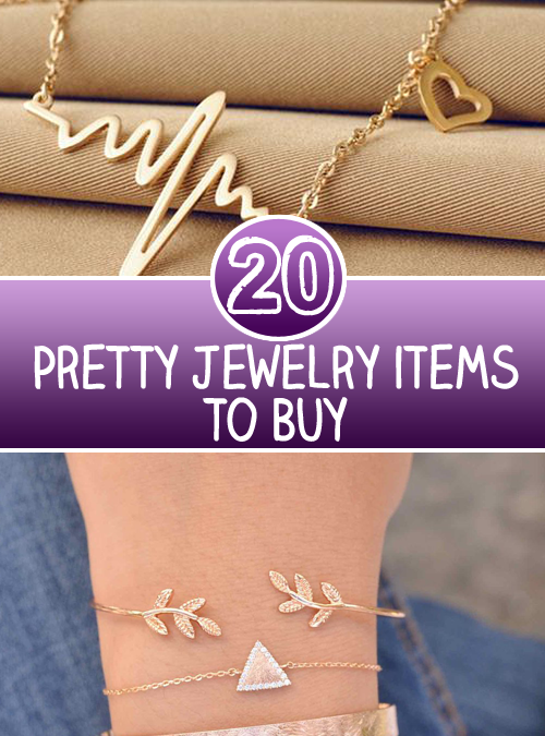 Top 20 Pretty Jewelry items to Buy