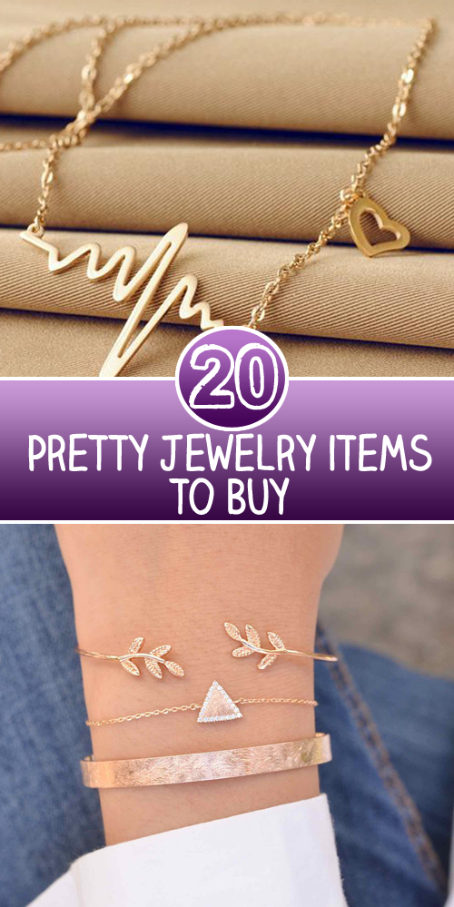 20 Pretty Jewelry items to Buy