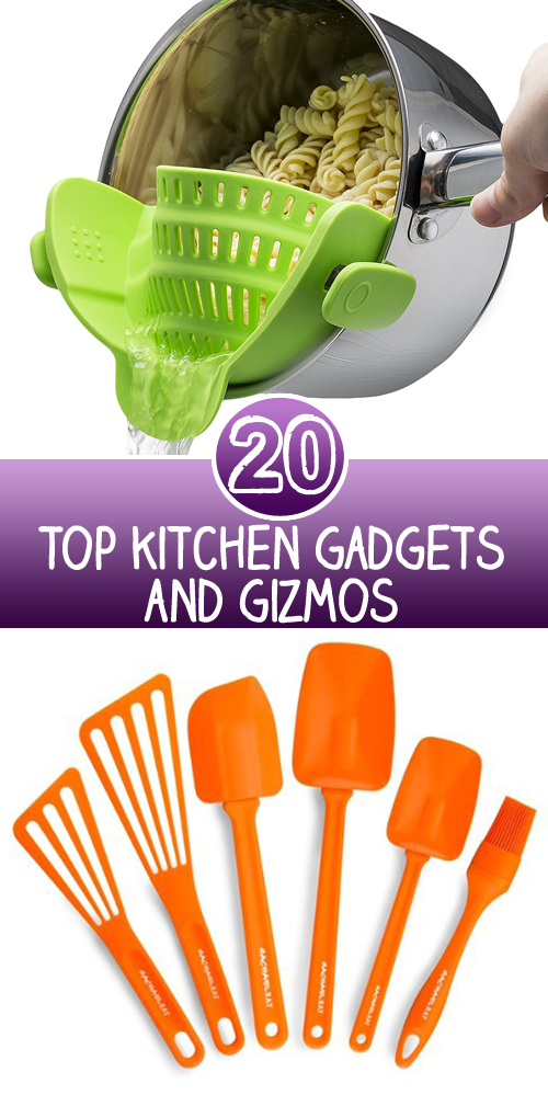 Top 20 kitchen gadgets and gizmos