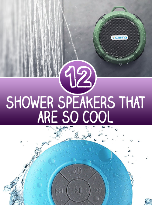 12 Shower Speakers that are So Cool