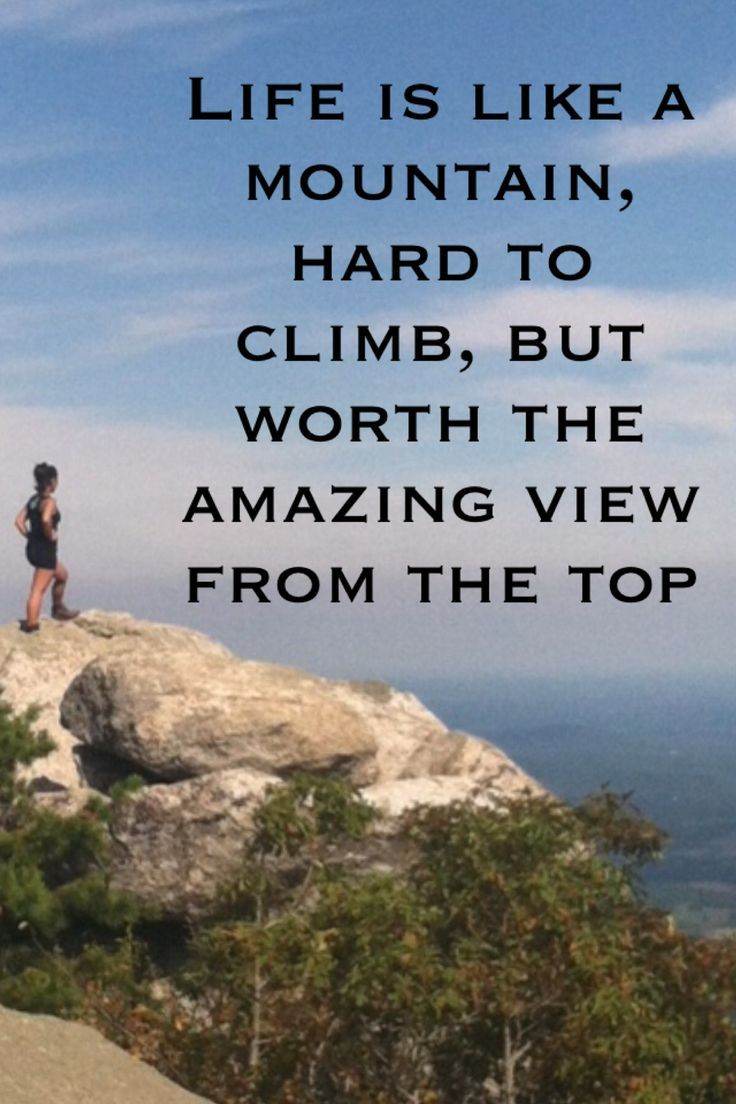 Best 20 Inspirational mountain quotes