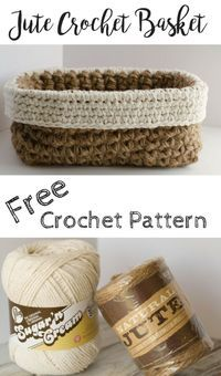 Crochet Basket gift idea
