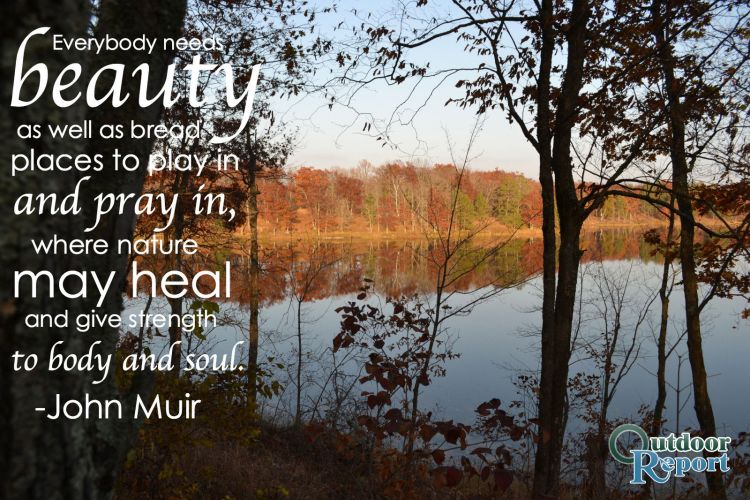 Top 22 quotes about being outdoors