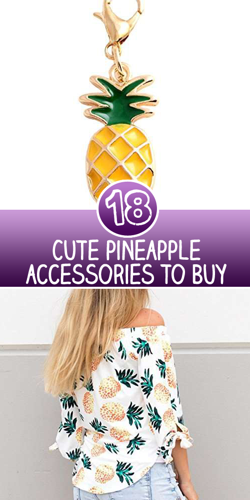 Cute pineapple accessories to Buy