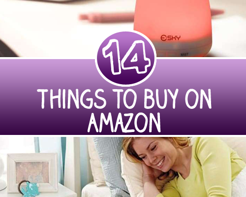 14 Things to buy on Amazon