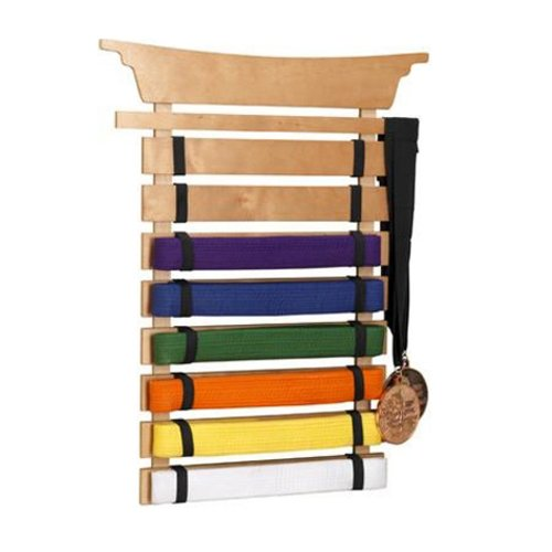 martial art belt holder
