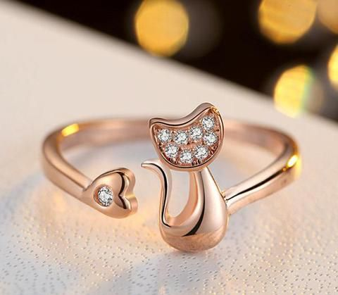 14 Super Cute Cat Rings You Should Buy