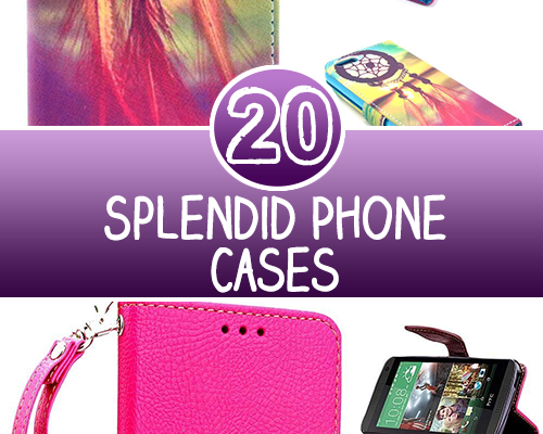 20 Splendid Phone Cases