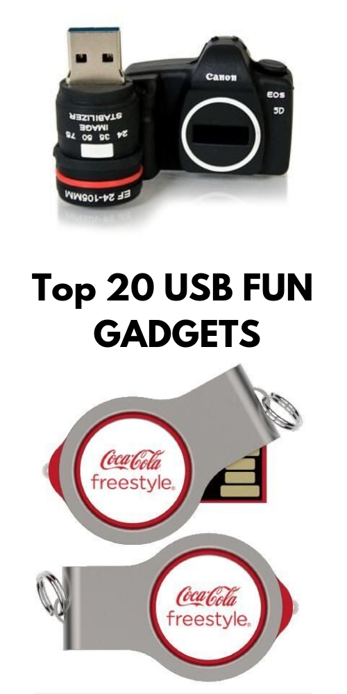 Top 20 USB Fun Gadgets